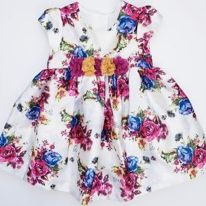 NWOT Laura Ashley London Floral Party Dress